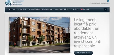 Investissement résidentiel responsable (IRR)
